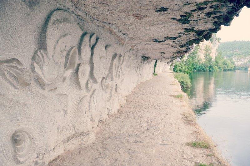 Chemin de Halage @ Saint-Cirq-Lapopie
