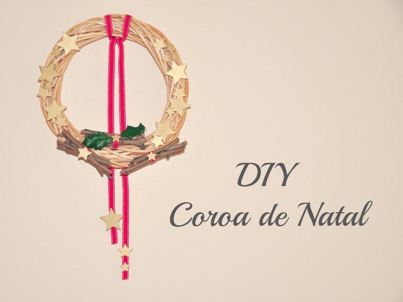 Coroa de Natal DIY