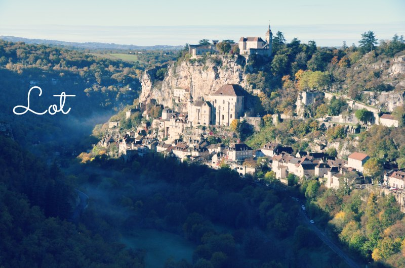 Visitar em França: Lot