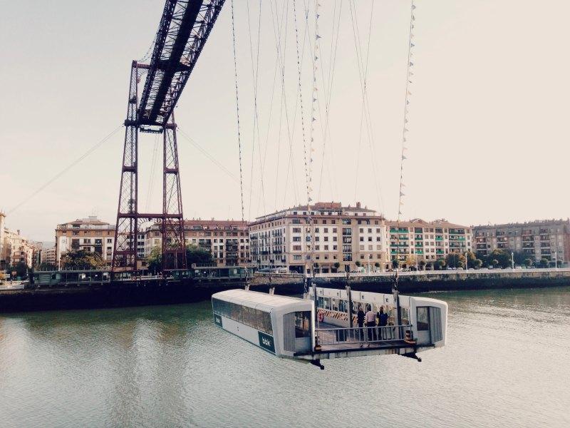 { Puente Bizkaia @ Portugalete }