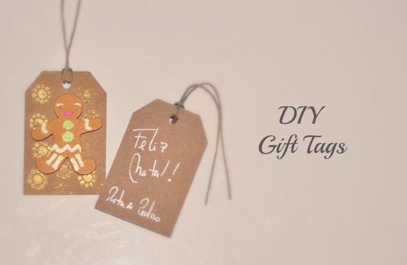 Etiquetas de Natal DIY