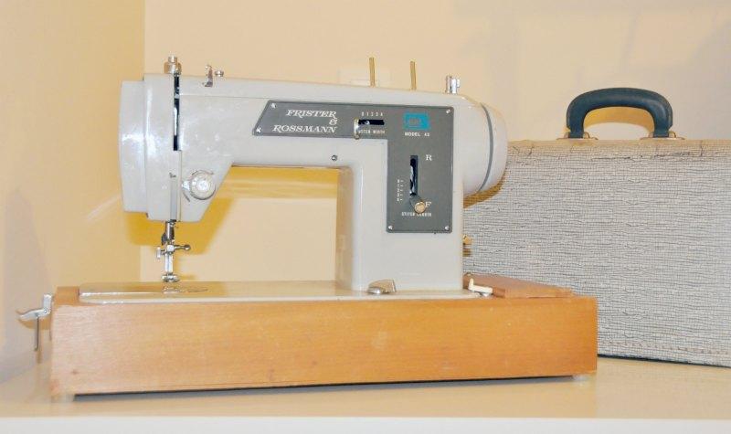 A minha nova máquina de costura velha