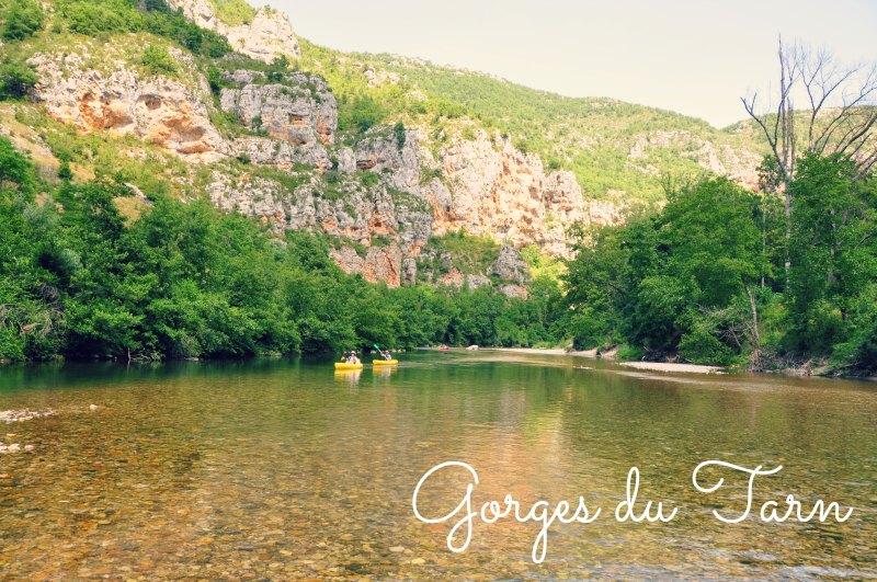 Visitar em França: Gorges du Tarn