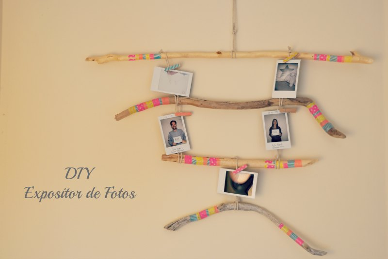 DIY Expositor de Fotos