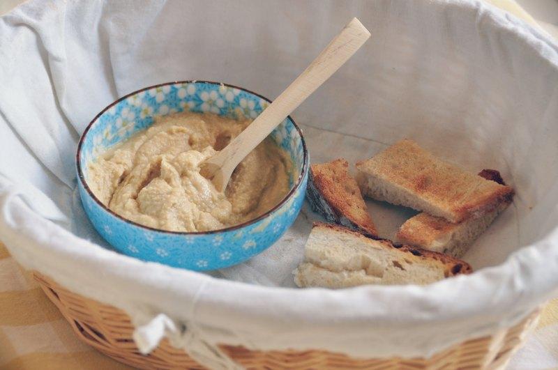 Receita de humus fácil