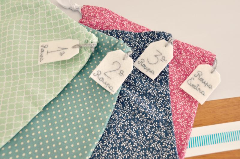 Projecto simples de costura: bolsas de pano