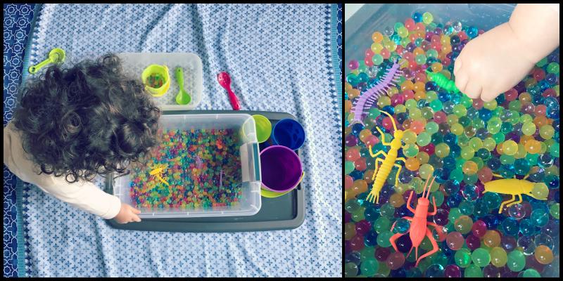 sensory play_water beads