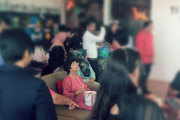 O dia em que eu conheci a Primeira Dama da Malásia
