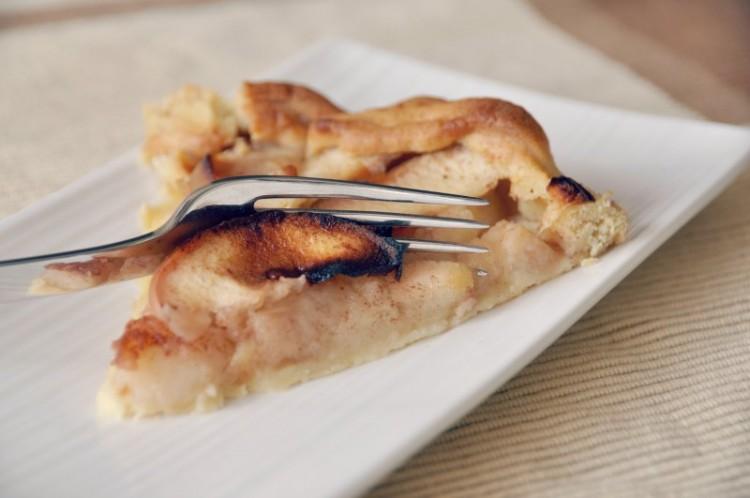 Receita simples de tarte de maçã