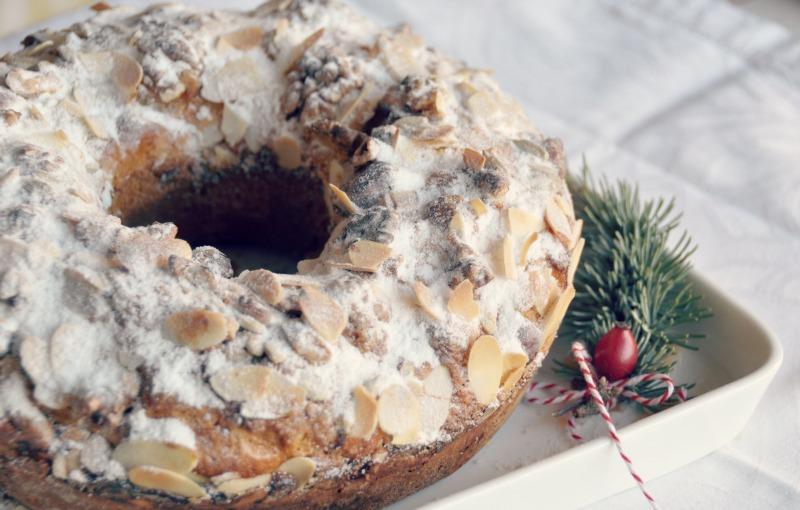 Receita clássica de Natal: bolo-rainha