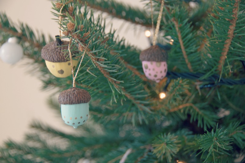 Decoração de Natal DIY com bolotas